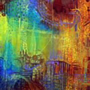 Shadows Of The Dream II Poster by Lolita Bronzini