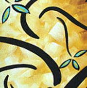 Simply Glorious 2 By Madart Poster by Megan Duncanson