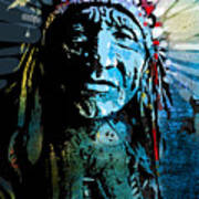Sioux Chief Poster by Paul Sachtleben