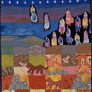 Sky Dancers Poster by Roberta Baker