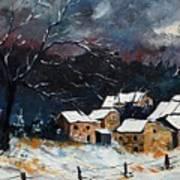 Snow 57 Poster by Pol Ledent
