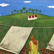Soft Breeze Poster by Anne Klar