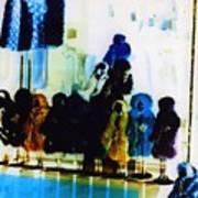 Soho Shop Window Poster by Karin Kohlmeier