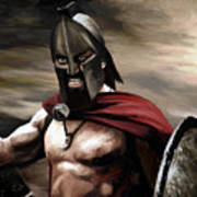 Spartan Poster by James Shepherd