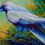Spirit Raven Poster by Marion Rose