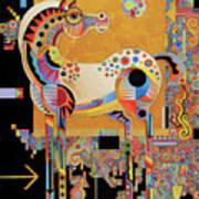 Spirit Stallion Poster by Bob Coonts