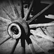 Spoked Wheel Poster by Perry Webster