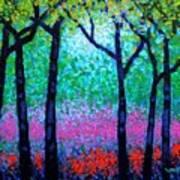 Spring Woodland Poster by John  Nolan