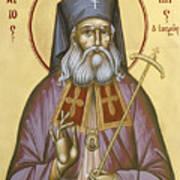 St Luke The Surgeon Of Simferopol Poster by Julia Bridget Hayes