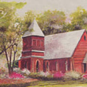 St. Mary's Chapel Poster by Charles Roy Smith