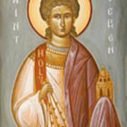 St Stephen II Poster by Julia Bridget Hayes