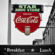 Star Drug Store Poster by Scott Pellegrin