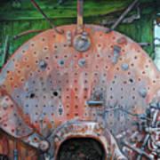Steel Heart Poster by Chris Steinken