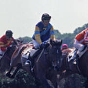 Steeplechase - 3 Poster by Randy Muir