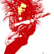 Steve Vai No.01 Poster by Caio Caldas