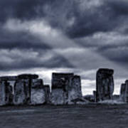 Stonehenge Poster by  Jaroslaw Grudzinski