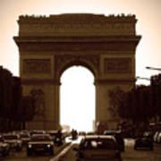 Streets Of Paris Poster by Kamil Swiatek