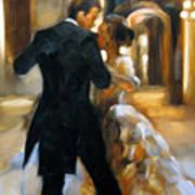 Study For Last Dance 2 Poster by Stuart Gilbert
