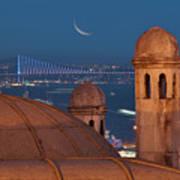Suleymaniye Poster by Salvator Barki