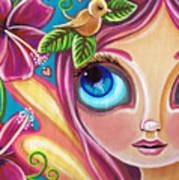 Summer Bliss Fairy Poster by Jaz Higgins