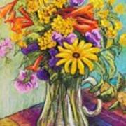 Summer Bouquet Poster by Candy Mayer