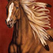 Sunhorse Poster by Pat Erickson