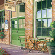 Sweetie Pies Bakery Poster by Gail Chandler