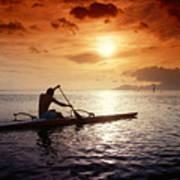 Tahiti, Papeete Poster by Joe Carini - Printscapes