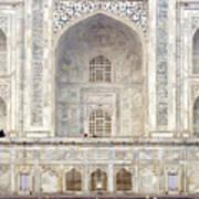 Taj Mahal II Poster by Nina Papiorek