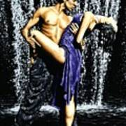 Tango Cascade Poster by Richard Young
