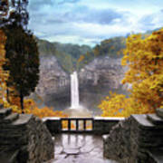 Taughannock In Autumn Poster by Jessica Jenney