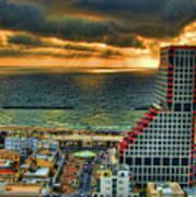Tel Aviv Lego Poster by Ron Shoshani