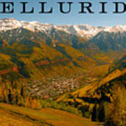 Telluride Colorado Poster by David Lee Thompson