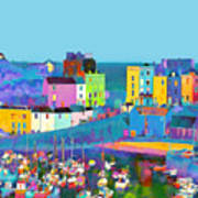 Tenby Harbour  I Poster by Gareth Davies