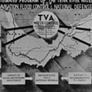 Tennessee Valley Authoritys Poster by Everett
