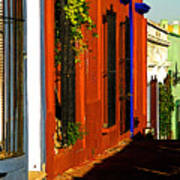 Terracotta House On The Hill Poster by Mexicolors Art Photography