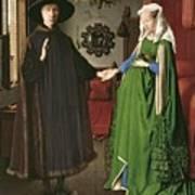 The Arnolfini Marriage Poster by Jan van Eyck