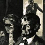 The Assassination Of Abraham Lincoln Poster by English School