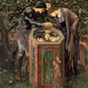 The Baleful Head Poster by Sir Edward Burne-Jones