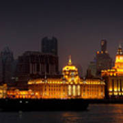 The Bund - More Than Shanghai's Most Beautiful Landmark Poster by Christine Till