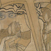 The Desire And The Satisfaction Poster by Jan Theodore Toorop