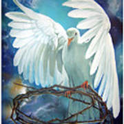 The Dove Poster by Larry Cole