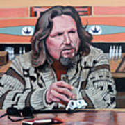 The Dude Poster by Tom Roderick