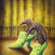 The Emerald Ships Poster by Lolita Bronzini