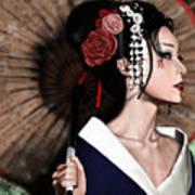 The Geisha Poster by Pete Tapang