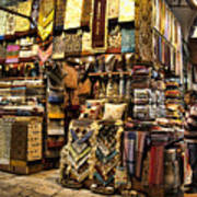 The Grand Bazaar In Istanbul Turkey Poster by David Smith