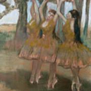 The Greek Dance Poster by Edgar Degas