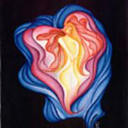 The Healer Poster by Karen Musick