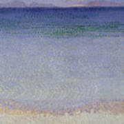 The Iles Dor Poster by Henri Edmond Cross
