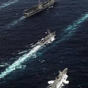 The John C. Stennis Carrier Strike Poster by Stocktrek Images